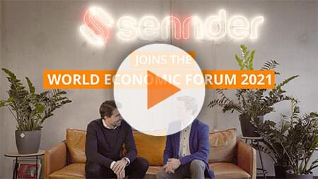 sennder joins the World Economic Forum 2021