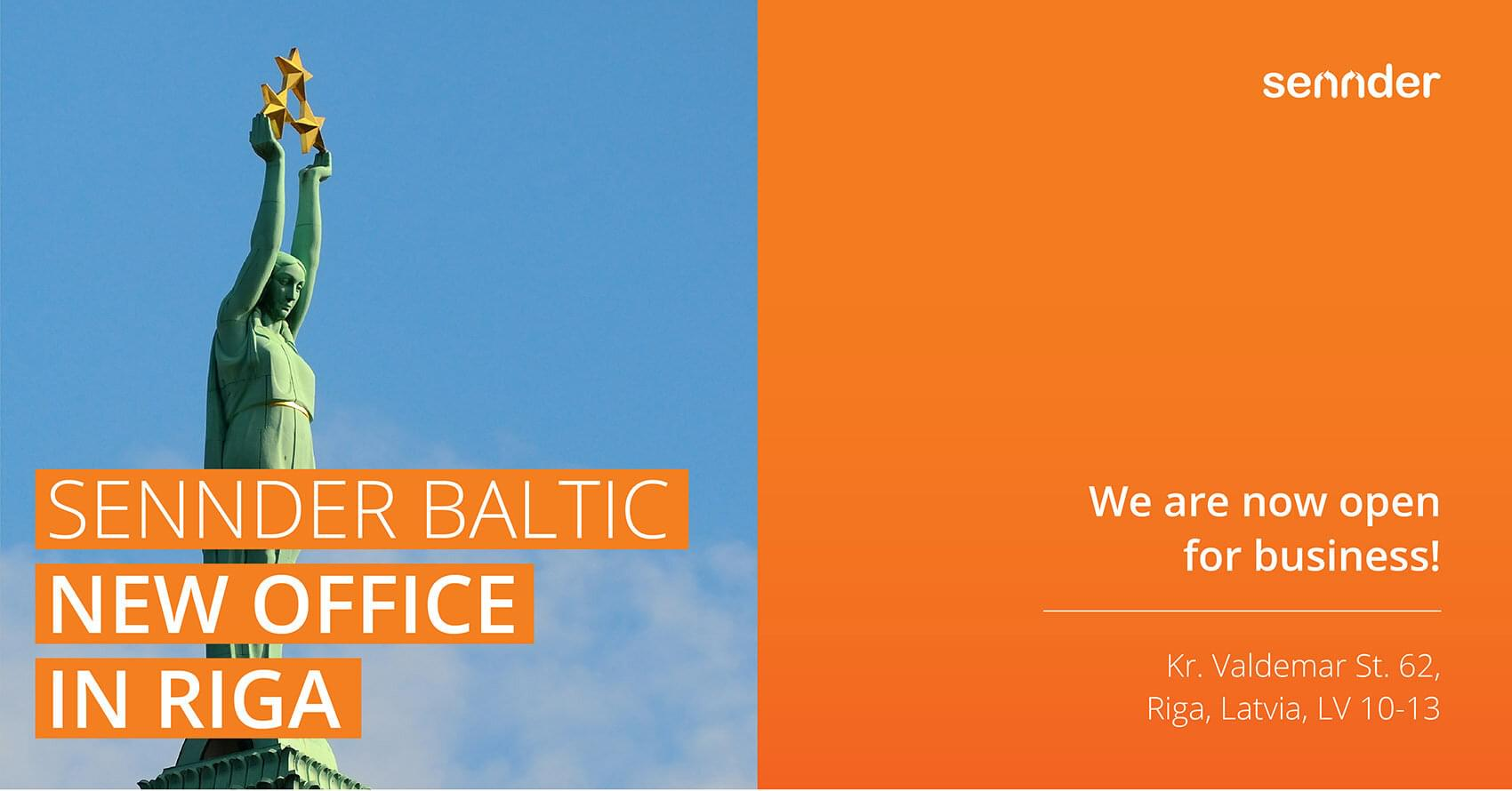 sennder Baltic, new office in Riga
