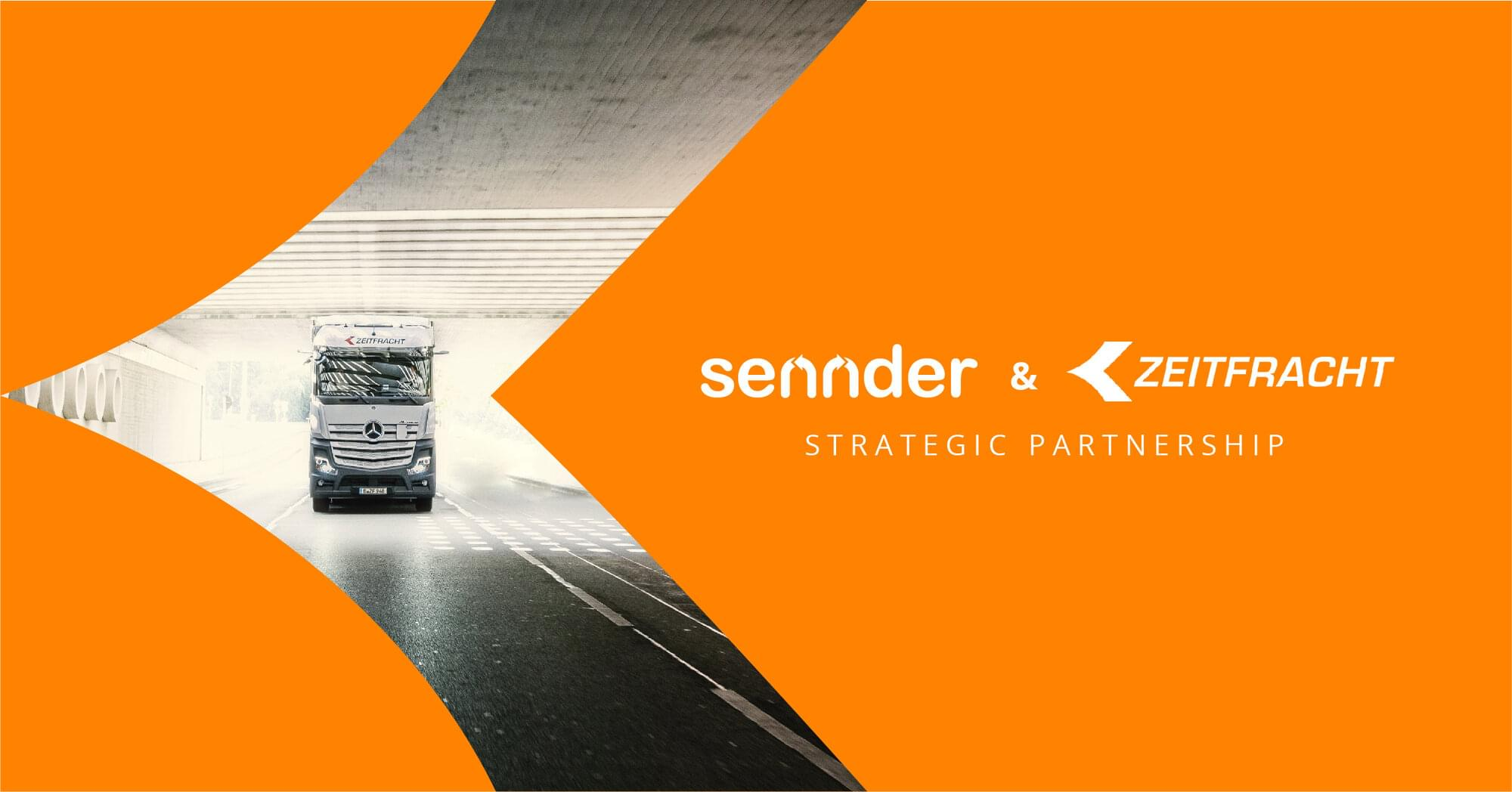 sennder licenses SaaS platform to Zeitfracht, as part of a new strategic partnership